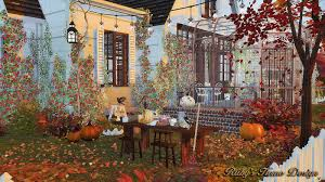 sims4 autumn cottage 秋天的小屋no download link ruby u0027s home design