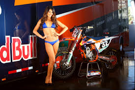 red bull motocross race olivia korte pinup gallery and wallpaper