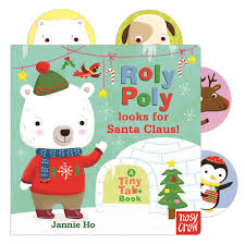 tiny tabs roly poly looks for santa claus nosy crow