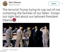 army fallen comrade table script sister of fallen soldier calls trump a fat f ing liar daily