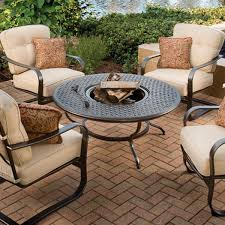 Wood Burning Firepit by Heritage Wood Burning Fire Pit By Agio Aminis