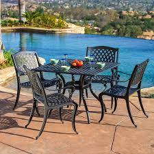 4 piece patio furniture sets amazon com best selling home decor 5 piece gaffey cast aluminum