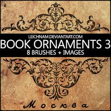 book ornaments brushes 3 by leichnam on deviantart photoshop