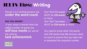 tips for writing papers writing ieltswithmelinda tips word count