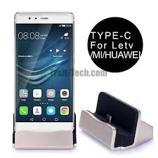 Phone Charging Stand by Type C Port Dock Station Sync Usb Charger Stand Cradle For Letv