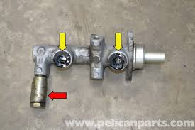 porsche 944 turbo brakes porsche 944 turbo brake master cylinder and reservoir replacement