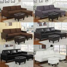 Leather Or Microfiber Sofa by Microfiber Faux Leather Living Room Sofas Loveseats U0026 Chaises Ebay