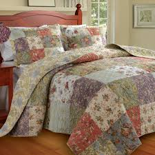 King Size Quilt Sets Blooming Prairie Bedspread Coordinates