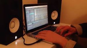 Studio Monitors On Desk by How To Connect Studio Monitors To Your Computer Without An Audio