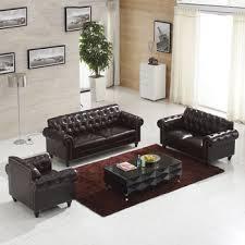 canapé sofa italien foshan meubles italie canapé en cuir usine chesterfield fauteuil