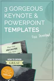 3 gorgeous free keynote u0026 powerpoint templates themes keynote