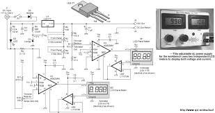 Variable Bench Power Supply With Lcd And Monitor Display Power Supply And Power Control Circuit Diagrams Circuit Schematics