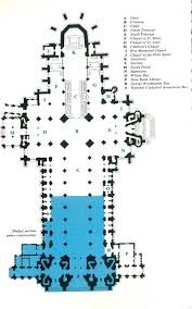 washington national cathedral floor plan fig 5 the floor plan ca 1965 neal cbell words and pictures