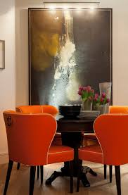 Orange Dining Room Chairs 163 Best Interiors Dining Images On Pinterest Dining Room