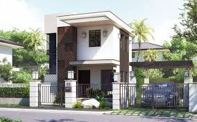 Modern Two Story House Plans Pinoy House Design 201512 Is A Small House Design In A Two Storey