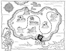treasure map coloring pages with regard to invigorate to color an