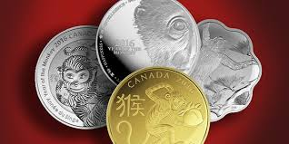 new year coin cibc to offer new year gold silver monkey coins