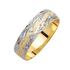 14k wedding band mens 14k 2 tone gold wedding band ring beverlydiamonds