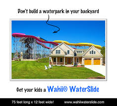 biggest backyard water slide outdoor furniture design and ideas