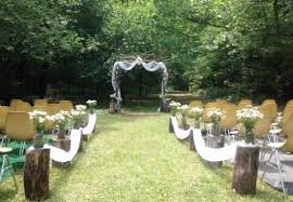 where is the best place to hold an outdoor wedding