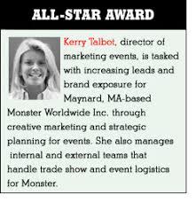 monster worldwide inc monster takes las vegas exhibitor magazine