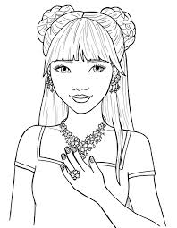 chibi lollipop coloring page within cute coloring pages