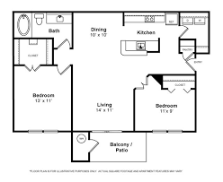 two bedroom two bath apartment floor plans awesome two bedroom one bath house plans contemporary best
