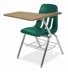 Left Handed Desk Virco Left