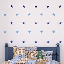 Wall Decals Patterns Color The by Online Shop 2 Color Multi Pack Stars Wall Stickers Home Decoration