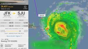 were you on this delta plane that flew into hurricane irma updated