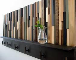 modern coat hooks wood coat rack with shelf rustic wood sculpture coat hooks in modern