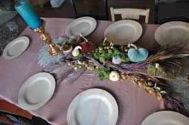 thanksgiving place settings lovefeast table