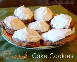 easy carrot cake cookies recipe cake mixes cake cookies and