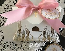 italian communion favors communion favor box etsy