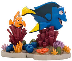 how to clean fish tank decorations