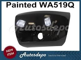painted wa9260 front bumper end cap lh w fog hole for 2008 2013