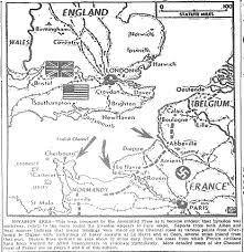 Normandy Invasion Map Map Europe 6 6 44 E Jpg