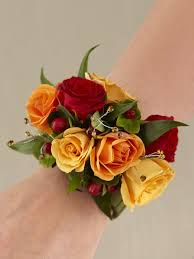 Red Rose Wrist Corsage Roses Wrist Corsage