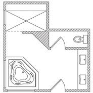 floor plans for bathrooms floor plan options bathroom ideas planning bathroom kohler