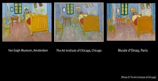 vincent van gogh bedroom vincent van gogh true colours of artist s paintings revealed by