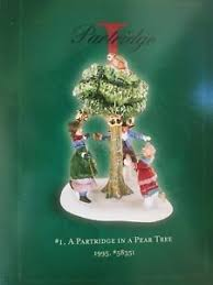 department 56 twelve 12 days of mint in box i 1 partridge
