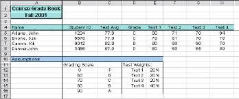 Grade Book Template Excel Excel Gradebook Thebridgesummit Co