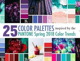 pantone color palettes 30 color palettes inspired by the pantone spring 2017 color trends