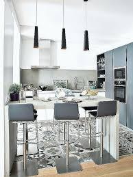 decoration cuisine noir et blanc credence deco cuisine deco cuisine york affordable incroyable