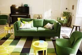 canape ikea vert 32 idées canapé moderne pour le salon salons green living rooms