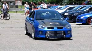 blue srt 4 neon from 2010 ny srt crew meet youtube