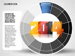 2014 powerpoint calendar for presentations in powerpoint and