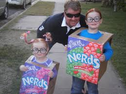 Nerd Costume Diy Costume Painted Boxes Check Out My Nerds Halloween