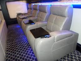 Palliser Palliser Media Sectional With 4 Palliser Home Theater Seating In