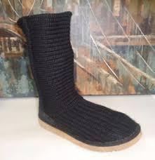 s pull on boots australia ugg australia 5857 pull on crochet knit sweater boots